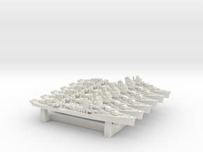 US DD Sims [1943] in White Natural Versatile Plastic: 1:4800