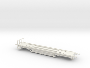 Tie Oil Saturating Wagon Frame - HO Scale – Europe in White Natural Versatile Plastic
