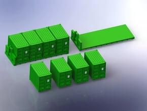 Quadcon Container Set 1/Set 220 in Smooth Fine Detail Plastic