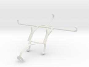 Controller mount for Xbox 360 & Tecno Spark 7P in White Natural Versatile Plastic