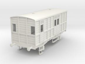o-32-garstang-knott-end-passenger-lms-brake-coach in White Natural Versatile Plastic