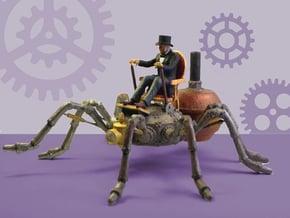 Mr. Gladstone's Arachnopede Conveyance in White Natural Versatile Plastic