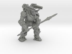 Doom Eternal Atlan Mech 105mm miniature model game in Gray PA12