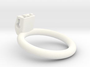 Cherry Keeper Ring G2 - 47mm Flat +12° in White Processed Versatile Plastic