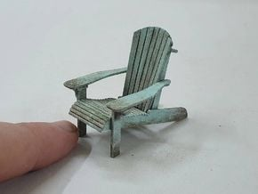 Chair 14. 1:24 Scale  in White Natural Versatile Plastic