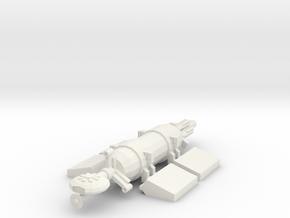 1/1000 Scale Mind Bender Bulk Freighter in White Natural Versatile Plastic