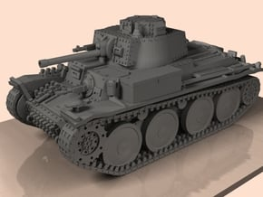1/100 Panzer 38(t)  in Smooth Fine Detail Plastic