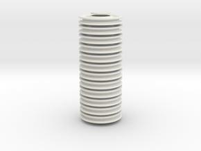 pulleywheel for ballbearing, 12 piece set in White Natural Versatile Plastic