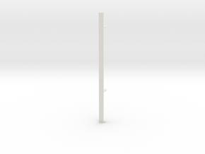 Elevator rail for 1980s Castle Grayskull in White Natural Versatile Plastic