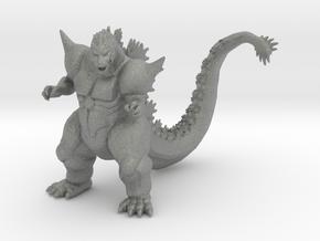Super Godzilla kaiju monster miniature model in Gray PA12