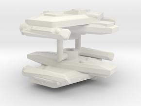 3125 Scale Eneen Corvettes (2) CVN in White Natural Versatile Plastic
