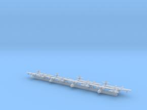 Grumman JRF & J4F x8 (WW2) in Smooth Fine Detail Plastic: 1:700