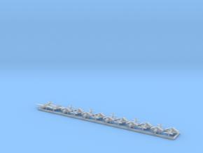 TBD w/Gear x12 (WW2) in Smooth Fine Detail Plastic: 1:500