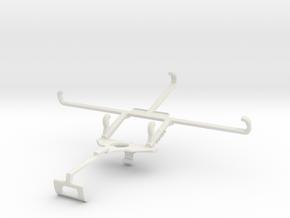 Controller mount for Xbox One S & Tecno Camon 17P  in White Natural Versatile Plastic