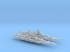 1/4800 French BC Dunkerque[1940]+Strasbourg[1942] in Smoothest Fine Detail Plastic
