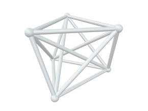 K6 - Twisted in White Natural Versatile Plastic