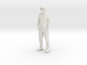 Printle K Homme 023 - 1/24 in White Natural Versatile Plastic
