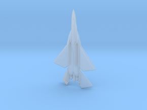 """F/A-44E """"Aruval"""" Stealth Fighter-Bomber in Smooth Fine Detail Plastic: 6mm"""