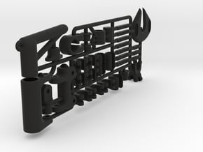 MicroMagic RIG SET alternative in Black Natural Versatile Plastic