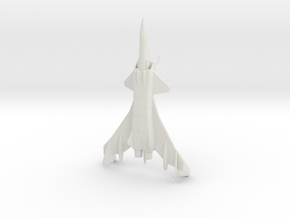 """Monthan Aerospace A-460M/2 """"Adder"""" in White Natural Versatile Plastic: 6mm"""