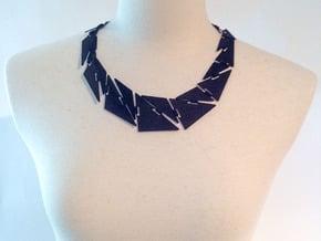 Kinectscan_mannequin_neckless in Black Natural Versatile Plastic