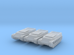 44M TAS Ammo Carrier (x3) 1/285 in Smooth Fine Detail Plastic