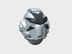 10x Cross Face - G:10 Prime Helmets in Smooth Fine Detail Plastic