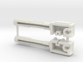 CarCrash-5a in White Natural Versatile Plastic