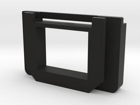 Olympus E-M5ii/iii, E-M10ii/iii eyecup adapter in Black Natural Versatile Plastic