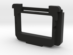 Olympus E-M5 II/III, E-M10 II/III finder adapter in Black Natural Versatile Plastic