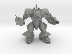 Super Mechagodzilla SMG 2nd 67mm miniature model in Gray PA12