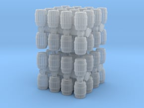 Wooden Barrel (x64) 1/500 in Smooth Fine Detail Plastic
