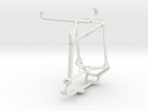Controller mount for Steam & Oppo Reno6 5G - Top in White Natural Versatile Plastic