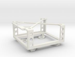 BMD Micro Converter BiDirectional Mount in White Natural Versatile Plastic