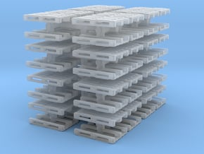 Euro Pallet (x64) 1/160 in Smooth Fine Detail Plastic