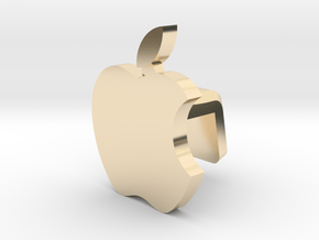 iMac M1 Camera Cover - Apple Logo in 14K Yellow Gold