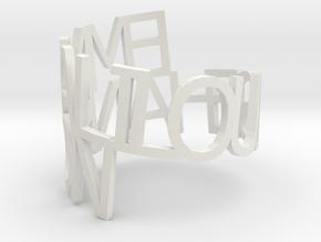 Emmali Hanson in White Natural Versatile Plastic