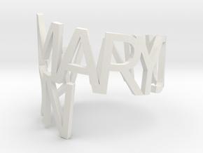 Mary Jo Hanson in White Natural Versatile Plastic