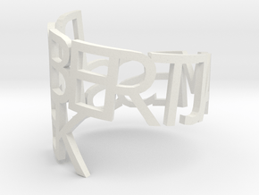 Robert Sitek in White Natural Versatile Plastic