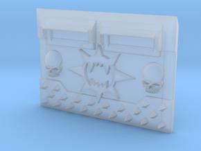 Wrecker Legion : Standard APC Frontplate in Smooth Fine Detail Plastic