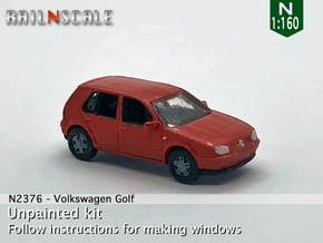 Volkswagen Golf 5-Türer (N 1:160) in Smooth Fine Detail Plastic