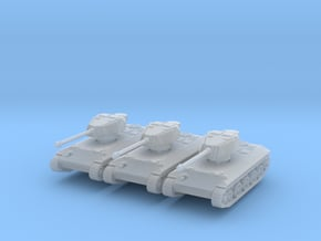 Toldi IV Project (x3) 1/285 in Smooth Fine Detail Plastic