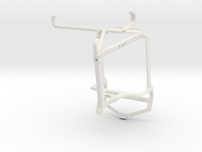 Controller mount for PS4 & vivo Y53s - Top in White Natural Versatile Plastic