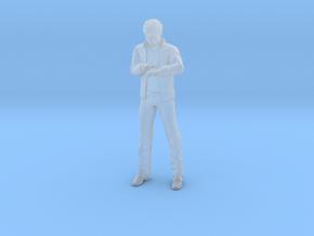Knight Rider  - Michael Knight - Custom in Smooth Fine Detail Plastic