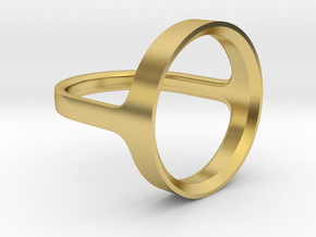 Loop in Polished Brass: 8.5 / 58