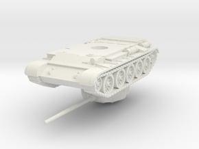 1/72 T-44 in White Natural Versatile Plastic