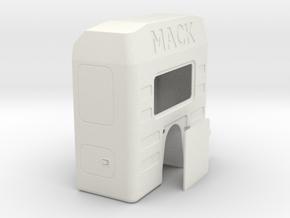 Sleeper-with-rear-hinge-storage-door in White Natural Versatile Plastic