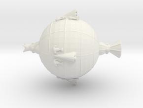Nevian Tanker in White Natural Versatile Plastic