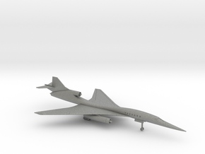 Aerion AS2 Quiet Supersonic Business Jet in Gray PA12: 1:300