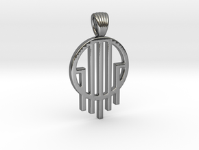 Source [pendant] in Polished Silver